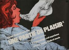 UNE PARTIE DE PLAISIR PLEASURE GAME British Quad movie poster CHABROL FETISH NM