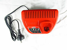 for Milwaukee M12 12 Volt Charger Red Lithium-Ion 48-59-2401
