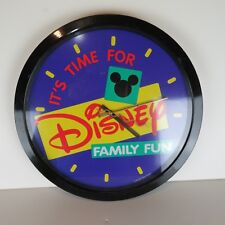 Disney Family Fun- Large Wall Clock - Nursery Kids Room Décor
