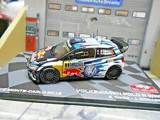 VW Volkswagen Polo WRC Rallye Monte Carlo 2016 #1 Ogier R Bul IXO Altaya SP 1:43