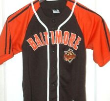 RARE Baltimore Orioles DYNASTY Baseball Jersey MLB Vtg STITCHED Sewn OLD  LOGO a4bfc1c3c