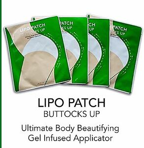 ULTIMATE BUTTOCKS UP HIP Enhancement BODY WRAPS it Works to Firm tone 4 pairs
