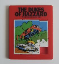 VINTAGE 1981 THE DUKES OF HAZZARD SLIDE PUZZLE 1980'S TV TOY Red Rare
