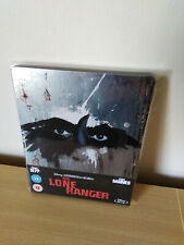 The Lone Ranger Blu Ray STEELBOOK UK Release