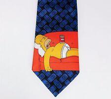 Cravatta HOMER SIMPSON DUFF BEER M&S Lavabile personaggio dei cartoni animati Novità Vintage 1990 S