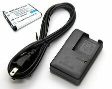 Battery + Charger for Casio Exilim QV-R100 QV-R200 QV-R300 ZOOM EX-Z16 EX-Z37