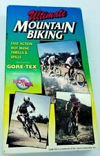 Ultimate Mountain Biking VHS Video 1989 Vintage MTB Racing Cycling Bicycle