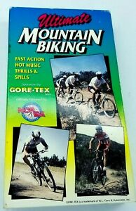 Ultimate Mountain Biking VHS Video 1989 Vintage MTB Racing Cycling Bicycle