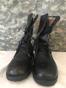 Vietnam Era Military Surplus Combat Boots with Waffle Sole 6.5 Narrow  New #142