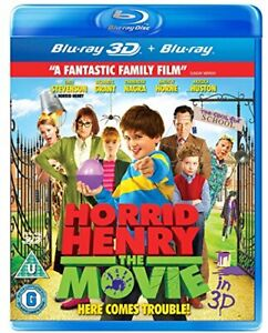 Horrid Henry: The Movie (Blu-ray 3D + Blu-ray) [DVD][Region 2]