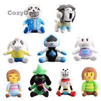 Game Figures Sans Lancer Ralsei Asriel Temmie Plush Toy Soft Stuffed Doll Teddy