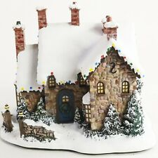 2002 Hawthorne Village Thomas Kinkade McKenna's Christmas Town Lighted House