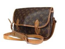 LOUIS VUITTON Gibeciere MM Monogram Canvas Leather Cross-Body Shoulder Bag
