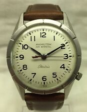VINTAGE HAMILTON RAILROAD SPECIAL ELECTRIC WATCH 505 MOVEMENT RESTORE ONLY