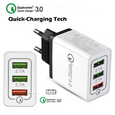 Schnellladegerät 3-Port Quick Charge 3.0 Adapter 24W