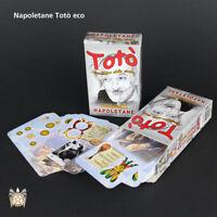 ds 40 Carte Da Gioco Napoletane Totò Eco Gioco Di Carte Patinate lui