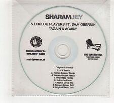(GV472) Sharam Jey & Loulou Players ft Sam Obernik, Again & Again - DJ CD