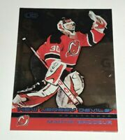 Martin Brodeur /240 made Pacific Heads Up Blue Insert Parallel Hockey Card 70