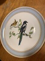 Vintage Haviland Limoges Hand Painted Cabinet Plate~Bird~Blue Bird