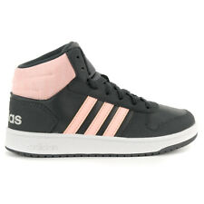 Adidas Kids Aros Nid 2.0 Girl's Shoes Carbono/hazcore/greone DB1474 Novo