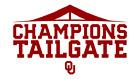 1 to 8 Oklahoma Sooners Club Champions Tailgate Passes 11/20 vs Iowa State