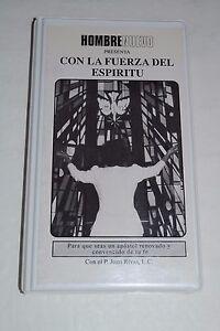 Hombre Nuevo Presenta Con La Fuerza Del Espiritu~P. Juan Rivas~3 Cassette Set