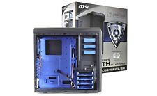 MSI -Stealth IN-602 7-Bay ATX Mid Tower Computer Case 120mm Blue LED Fan USB 3.0