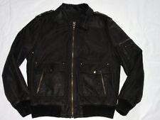 * Best Company chaqueta de cuero marrón * * discretamente * Biker * Pilotos * ultras * ZX * GR: XXL * como nuevo