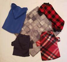 XXS Shirt, Hoodie, Pajamas Puppy Teacup Dog Pet Apparel Clothes Boy Bundle Pack