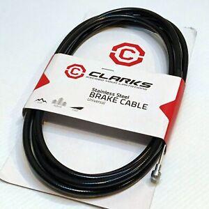 Clarks Universal Brake Cable Set (1 end, Black)—AUS STOCK— Bike Bicycle MTB Road