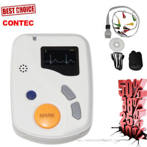 Hot Dynamic 12 Lead ECG Holter Systems 48 Hours Recorder/Analyzer 12 Channel,CE