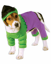 Avengers Incredible Hulk Marvel Comic Dog Costume Size Small NEW Rubies 580069