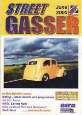 STREET GASSER JUNE 2000-NSRA HOT ROD V8 MAG-NATIONAL STREET ROD ASSOCIATION