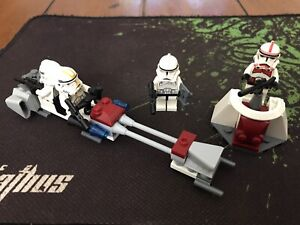 Lego Star Wars 7655 Clone Trooper Battle Pack Complete