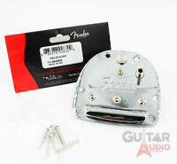 Genuine Fender Jaguar/Jazzmaster USA Vintage '62 Tailpiece Tremolo - Chrome