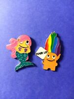 Amazon Employee Peccy Pin - Mermaid and Troll