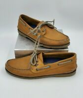 Sperry Top Sider Shoes Brown Leather Boat 2 Eye Mens Size 8m