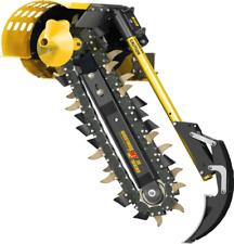 Mt36 Skid Steer Trencher Attachment 36 Depth 6 Wide Chain