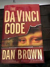 Robert Langdon: The Da Vinci Code by Dan Brown (2003, Hardcover)