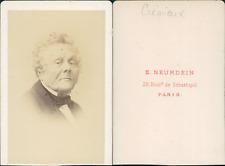 Crémieux CDV vintage albumen.  Tirage albuminé  6,5x10,5  Circa 1870  <div