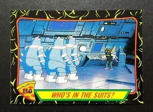 1989 Teenage Mutant Ninja Turtles Card 2nd Series - #160 Who's In The Suits?