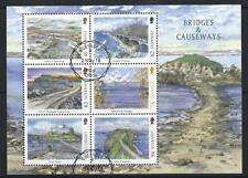 Guernesey 2018 Europa Ponts et Causeways Miniature Feuille Fin D'Occasion