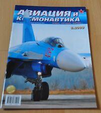 02//08 Aviation /& Astronautics Russian Magazine S-75 YAK-36 YAK-38 IL-8