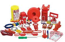 Lockout Tagout Starter Kit Electrical Pouch Loto Circuit Breaker Hasp UL321