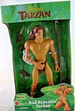 1999 Rare NEW Mattel Disney Rad Repeatin' Tarzan Action Figure Banned Toy Gift