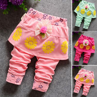 Kids Baby Girls Clothes Clothing Trousers Infant Girl Summer Short Pants Bottoms