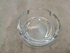Thick Glass Ashtray Round