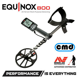 Minelab Equinox 800 Multi Frequency Metal Detector