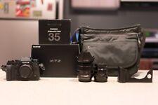 Fujifilm X-T2 Mirrorless Digital Camera & 2 Lens & Grip & more