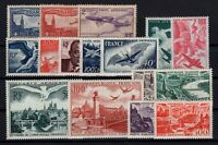 AJ140406/ FRANCE / AIRMAIL / LOT 1930 - 1949 MINT MH - CV 245 $